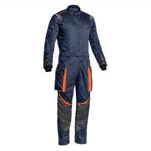 Sparco overall blauw MS 7