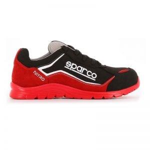 lichtgewicht werkschoen - Sparco Nitro Rood