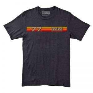 Sparco t-shirt rally orange yellow red