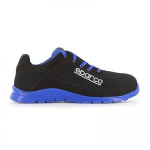 lichtgewicht werkschoen - Sparco Zwart Blauw