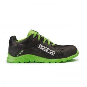 lichtgewicht werkschoen - Sparco Practice Zwart Groen