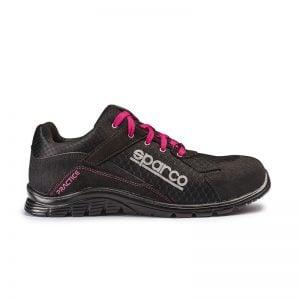 lichtgewicht werkschoen - Sparco Practice Zwart Roze