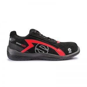 Sparco Sport Evo Zwart Rood