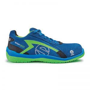 Sparco Sport Evo Blauw Groen
