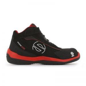 Sparco Racing Evo zwart Rood